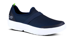 OOmg Navy/White Sole