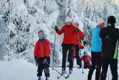Ut på skitur