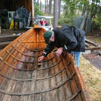 Klargjøring av båten å Fjorda
