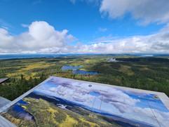 Utsikt fra Lushaugtårnet