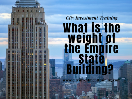 What is the weight of the Empire State Building?