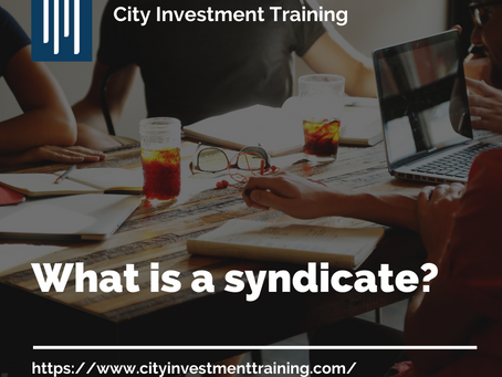 What is a syndicate?