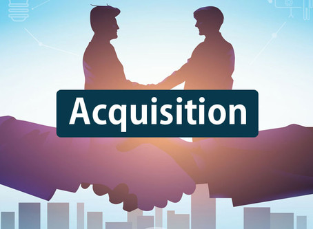 How does a company fund an acquisition?