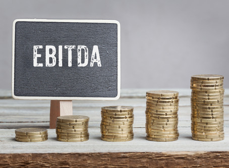 Why do analysts use EBITDA versus net income to value a company?