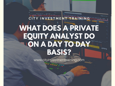 What does a Private Equity Analyst do on a day to day basis?