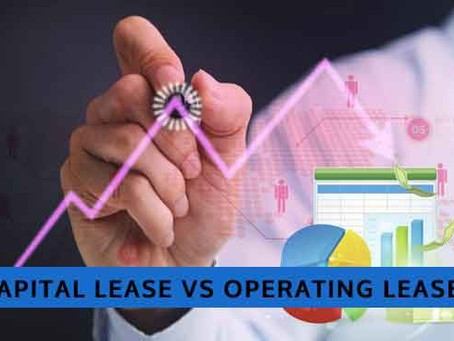 What is the difference between capital and operating leases?