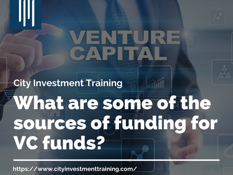 What are some of the sources of funding for VC funds?