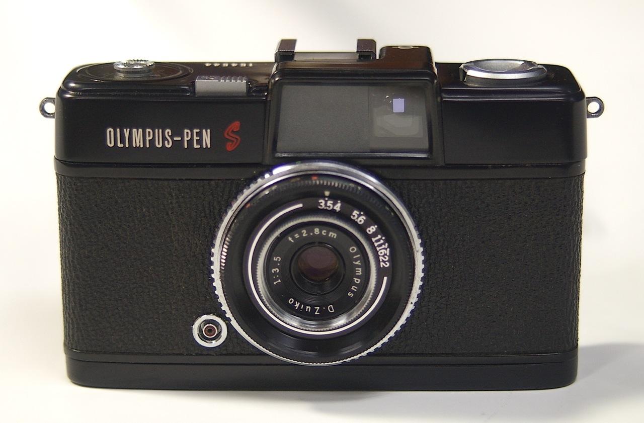 オリンパスPEN-Sをブラック塗装
