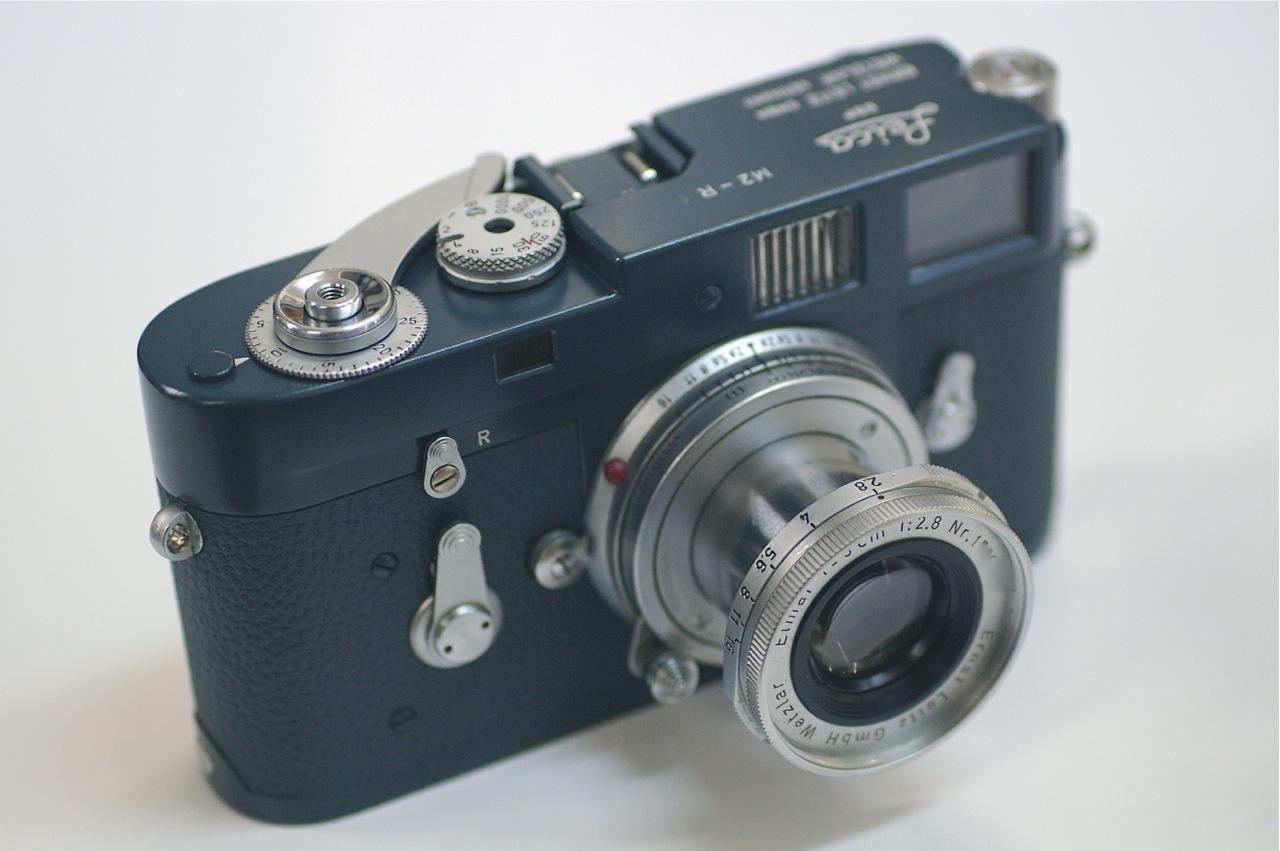 ライカM2 西ドイツ軍グレー仕様