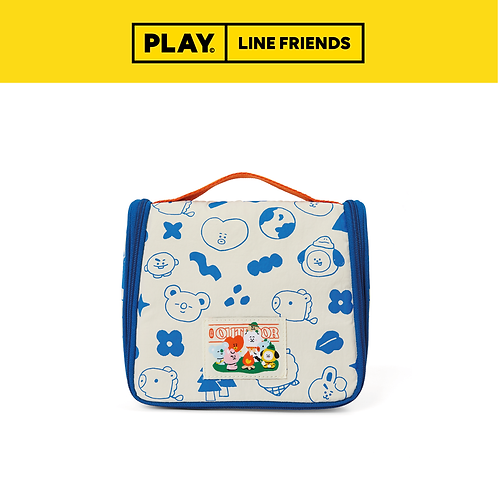 BT21 Green Planet Travel Pouch #Ivory