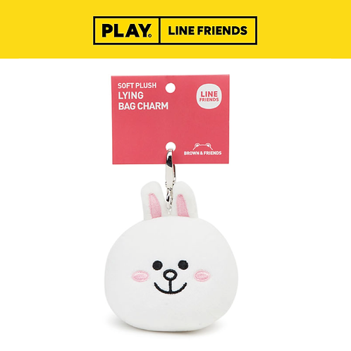 Softlying Plush Bag Charm 15cm #Cony