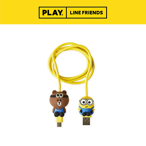 BF x Minions Type-C Cable