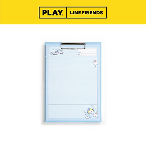 BT21 Clipboard & Notepad Set A4 [Dream] #CHIMMY