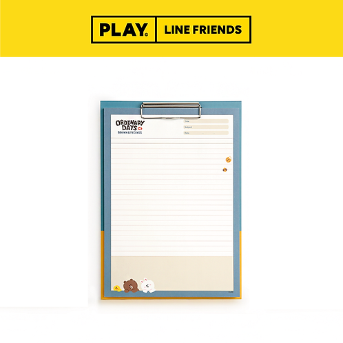 Clipboard & Notepad Set A4 #Ordinary