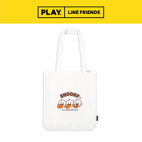 BT21 Canvas Eco Bag [Jelly Candy] #SHOOKY