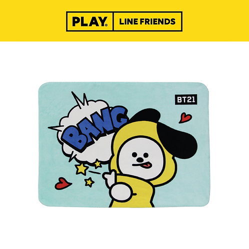 BT21 Flannel Blanket #CHIMMY
