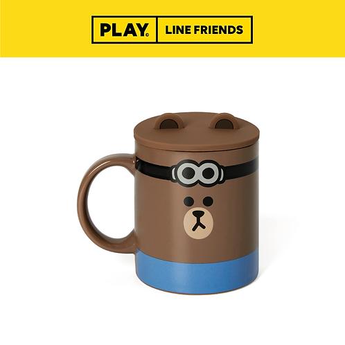 BF x Minions Mug Cup Set #BROWN