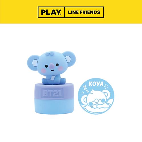 BT21 Figure Stamp Wisdom #KOYA