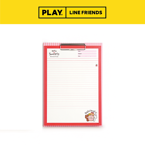 Clipboard & Notepad Set A4 #Sweet