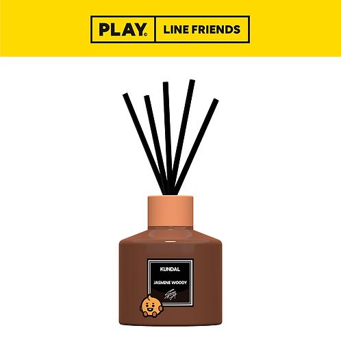 BT21 Perfume Diffuser 200ml (2 set) - Jasmine Wood #SHOOKY
