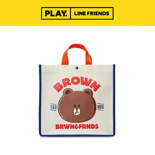 Picnic Bag (M) #BROWN