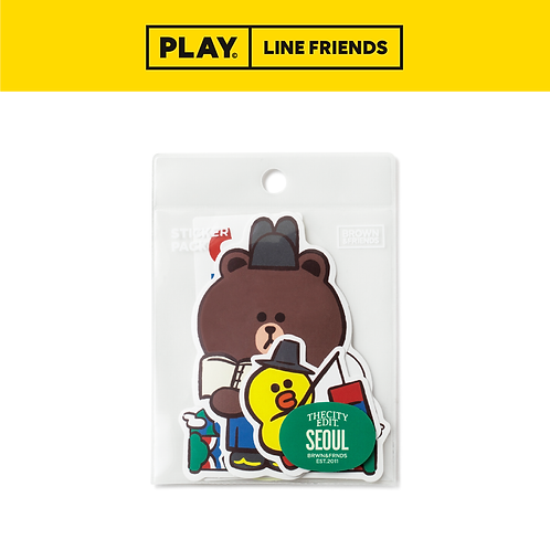 City Sticker Pack #Seoul