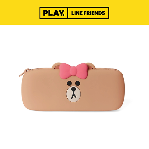 Silicone Pencil Case #CHOCO