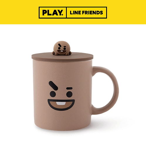 BT21 Basic Mug with Lid #SHOOKY