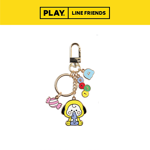 BT21 Jelly Candy Metal Keyring #CHIMMY