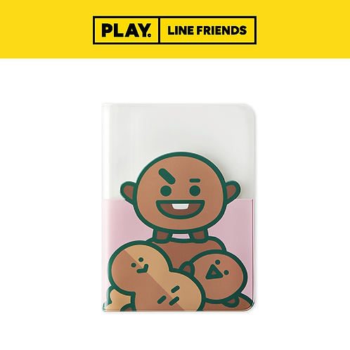BT21 Colour Passport Case [Clear] #SHOOKY