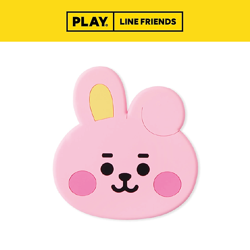 BT21 Baby Silicone Coaster #COOKY