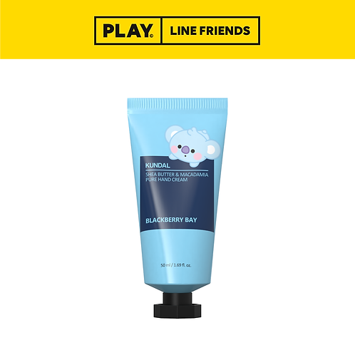 BT21 Shea Butter & Macadamia Pure Hand Cream 50ml - Blackberry Bay #KOYA