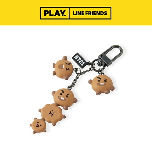 BT21 Dangle Figure Key Ring #SHOOKY