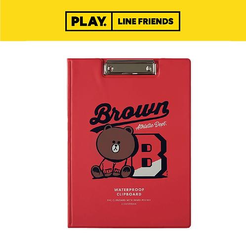 Univ Clipboard #BROWN