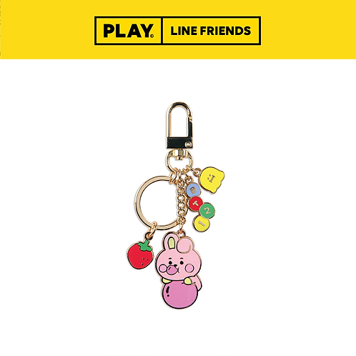 BT21 Jelly Candy Metal Keyring #COOKY
