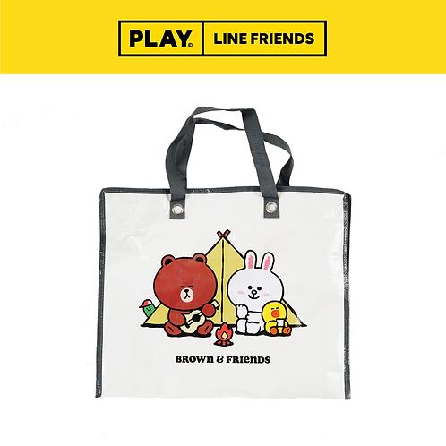 Tarpaulin Bag (L) #Beige