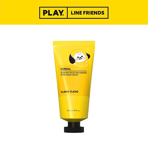 BT21 Shea Butter & Macadamia Pure Hand Cream 50ml - Ylang Ylang #CHIMMY