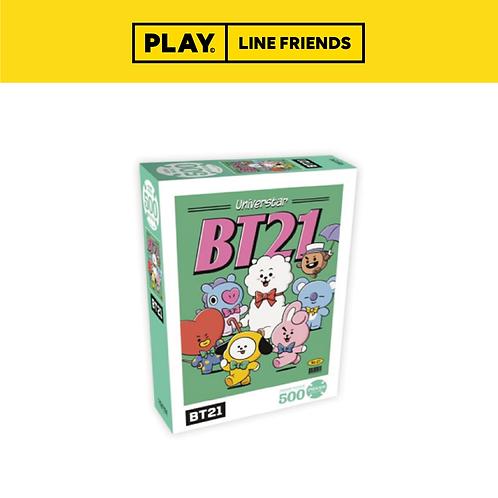 BT21 Jigsaw Puzzle (500pcs) #Poster