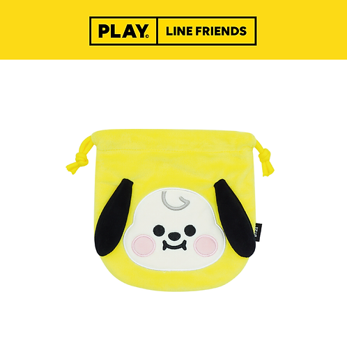 BT21 Face Pouch Wisdom #CHIMMY
