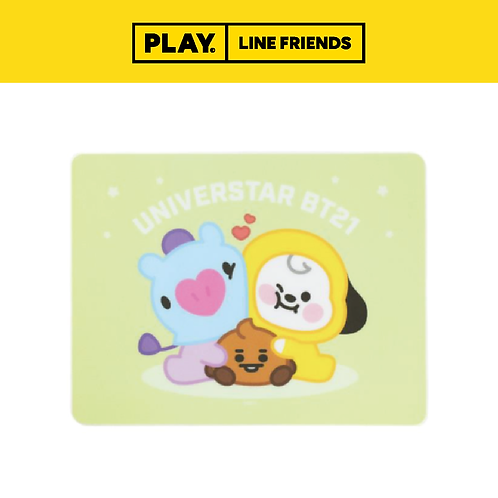 BT21 Baby Wireless Mouse Pad #CHIMMY&SHOOKY&MANG