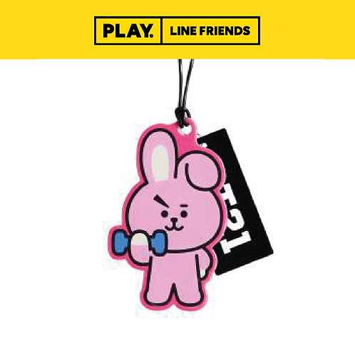 BT21 Name Tag [Clear] #COOKY