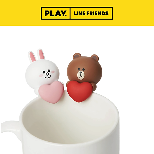 Drink Marker (2pc) #BROWN&CONY
