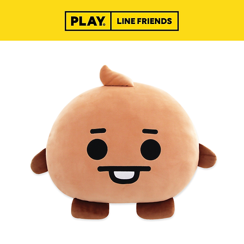 BT21 Universtar Big Face Cushion #SHOOKY