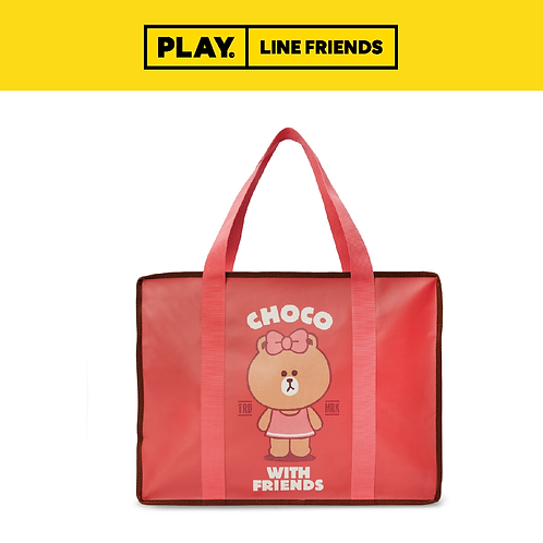 Picnic Bag (L) #CHOCO