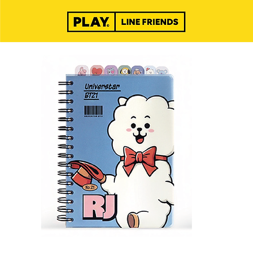 BT21 Index Note Vintage #RJ