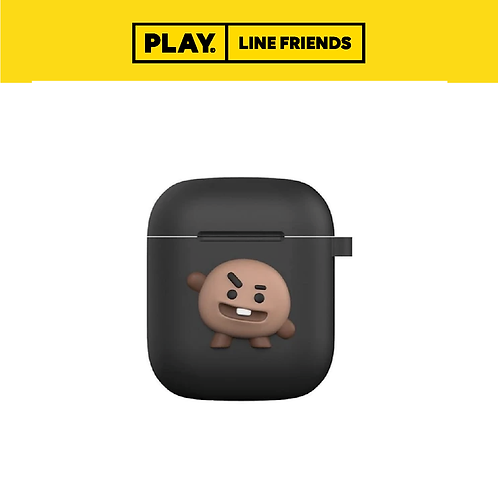BT21 AirPods Case (Black Edition) #SHOOKY