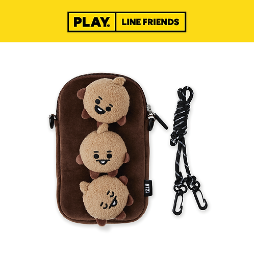 BT21 Baby Plush Cross Bag #SHOOKY