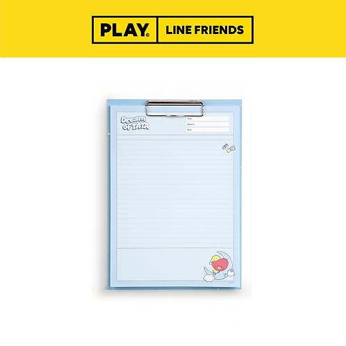 BT21 Clipboard & Notepad Set A4 [Dream] #TATA