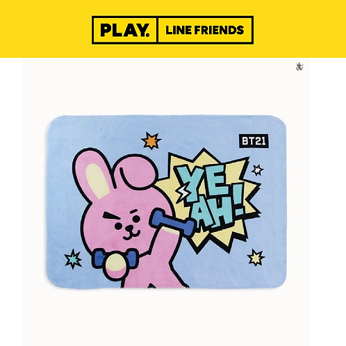 BT21 Flannel Blanket #COOKY