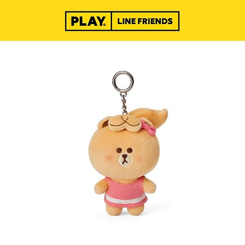 MBF Plush Doll Keychain 11cm #CHOCO